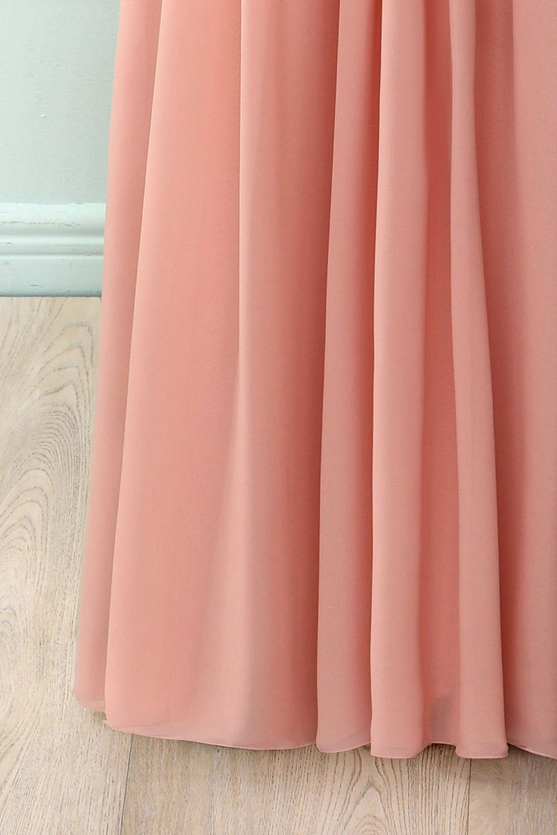 Load image into Gallery viewer, Ruffle Blush Lace Dress