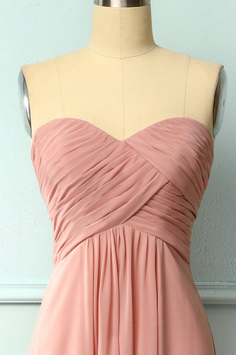 Ruffle Strapless Dress