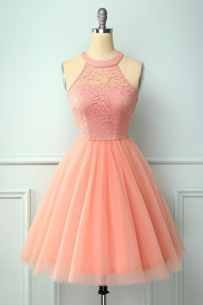 Load image into Gallery viewer, Blush Short Party Dress
