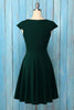 Load image into Gallery viewer, Drak Green Solid Homecoming Dress