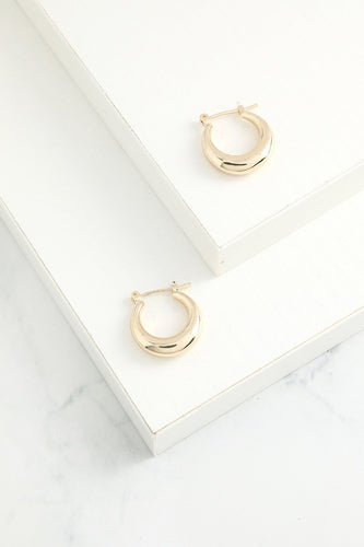 Simple Circle Earrings