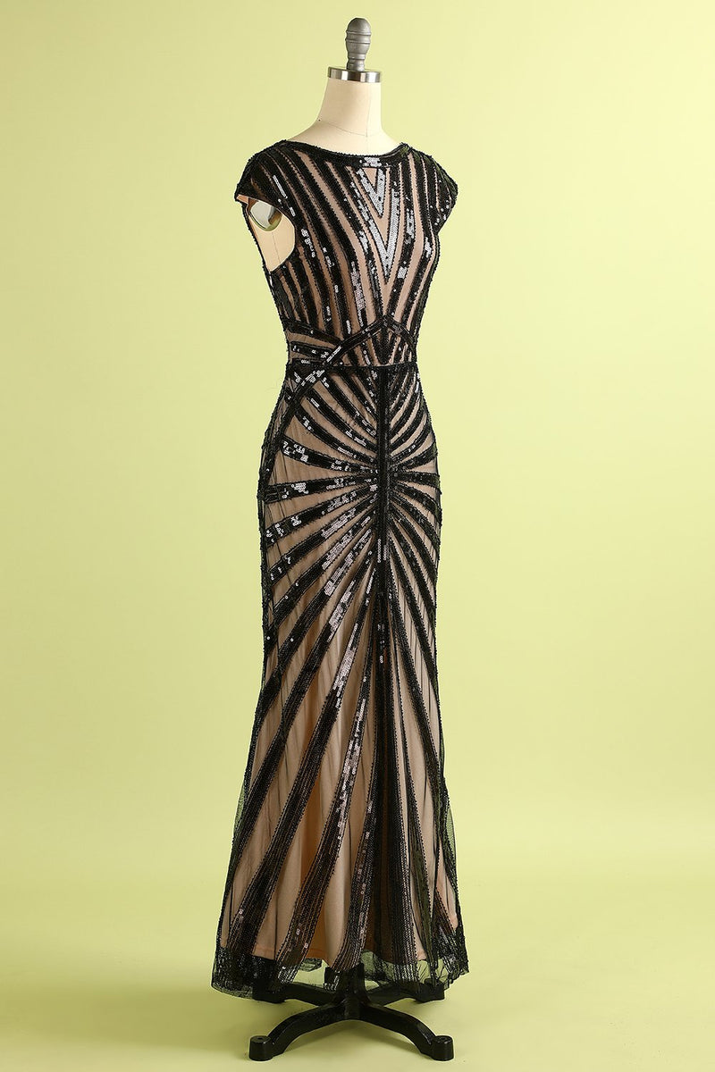 Load image into Gallery viewer, Sequined Mermaid 1920s Dress