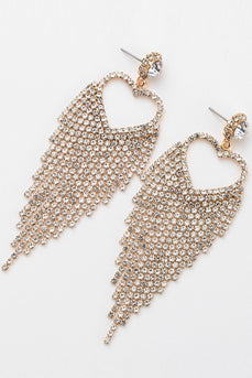 Rhinestone Sweetheart Earrings