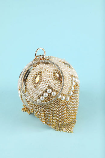Champagne Handbag for Party