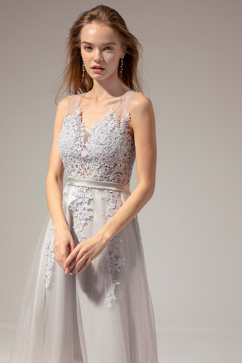 Load image into Gallery viewer, Short Lace Tulle Dress