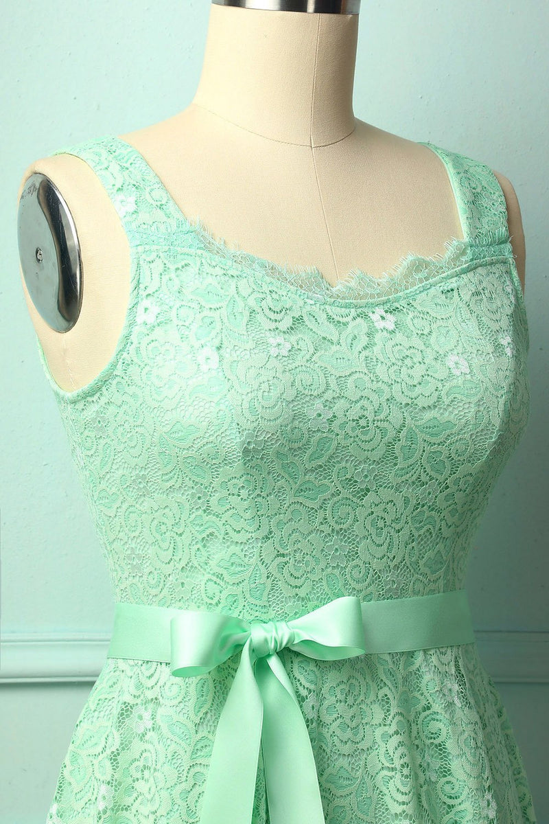 Load image into Gallery viewer, Mint Sleeveless Lace