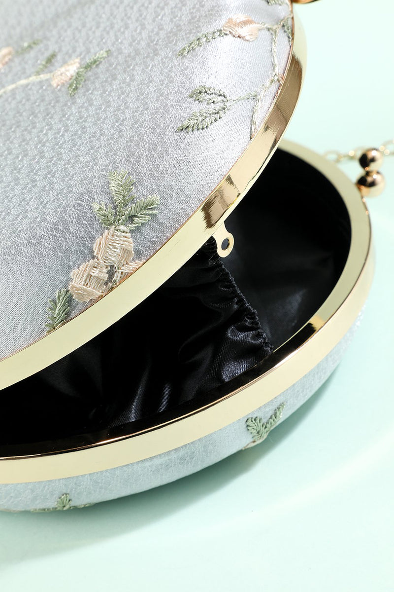 Load image into Gallery viewer, White Embroidery Handbag