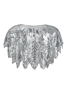 Sequin Glitter 1920s Cape