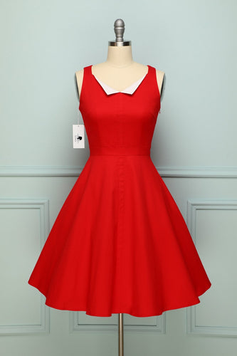 Lapel Red Swing - ZAPAKA