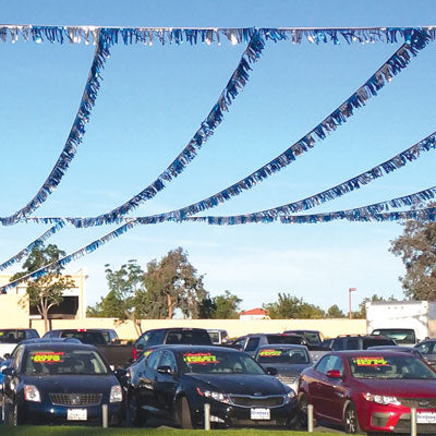 60ft. Metallic Starburst Pennants {EZ321}