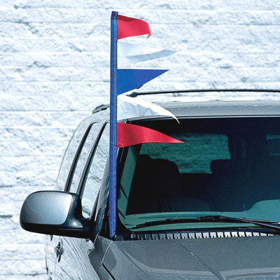 Plasticloth Antenna Pennants {EZ340}