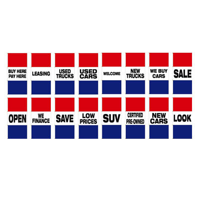Horizontal Slogan Drape Flag - Double Face {EZ372DB}