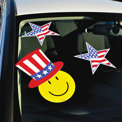 Uncle Sam Hat Decals (EZ446-HAT)