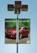 Custom Double Pole Banner Kit {EZ464}