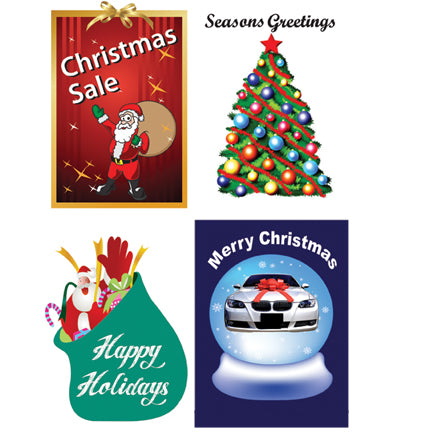 Holiday Outdoor Stock Message Inserts {EZ925-HOL}