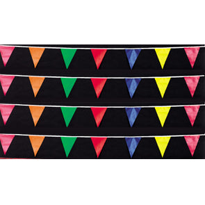 100ft. Fluorescent Pennants {EZ319}