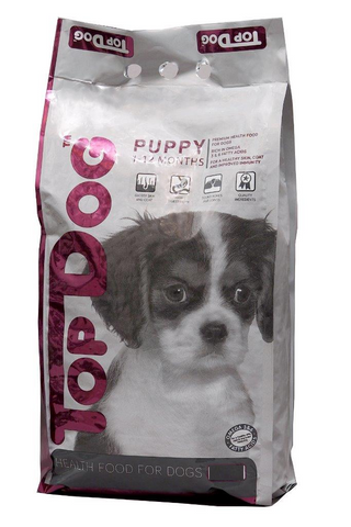 top dog puppy food 20kg
