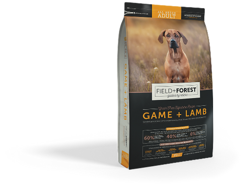 field and forest game and lamb dog food