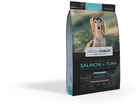 field and forest salmon and tuna dog food