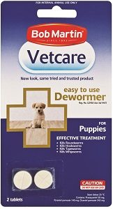 Vetcare Deworming Tablets Puppy 2's