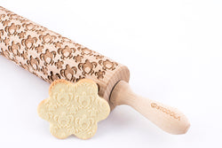 Rolling Pin Embossed with LOVELY SEA TURTLES
