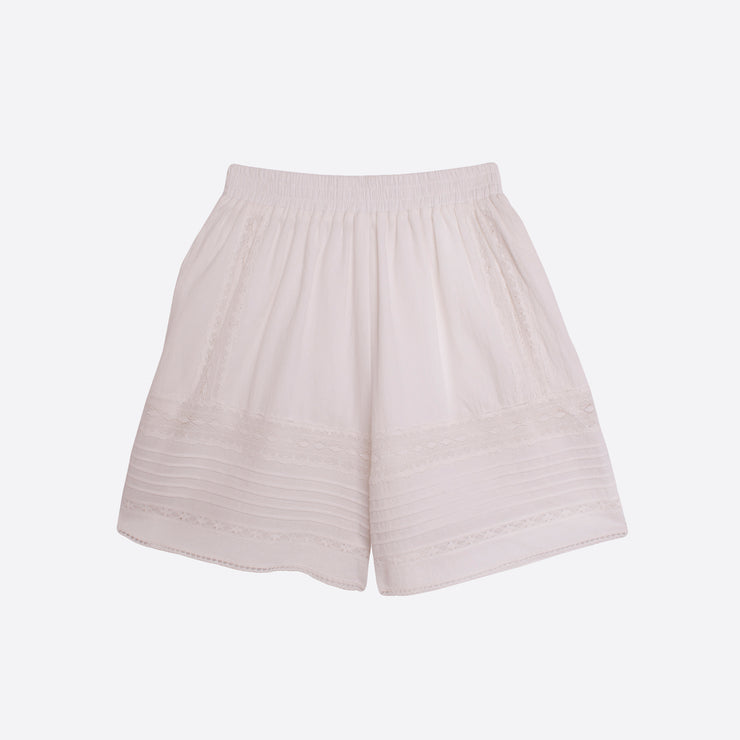 Meadows Caspia Shorts in White