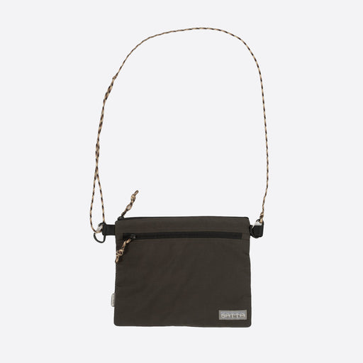Satta Sacoche Sling Bag in Charcoal