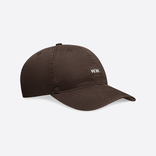 Wood Wood Low Profile Cap in Brown