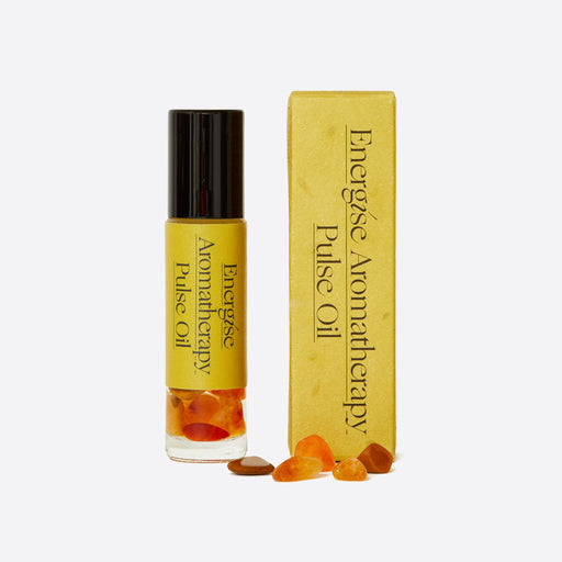 Palm of Feronia Energise Aromatherapy Pulse Oil
