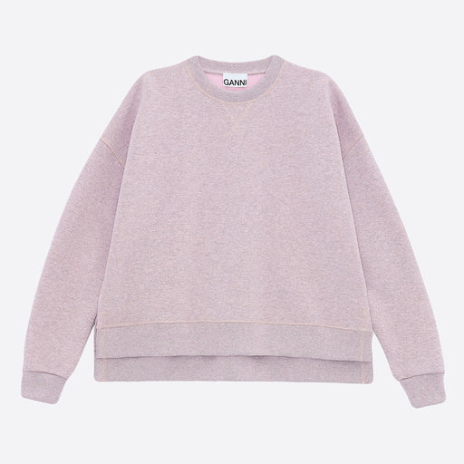 Ganni Isoli Oversized Sweatshirt in Cherry Blossom