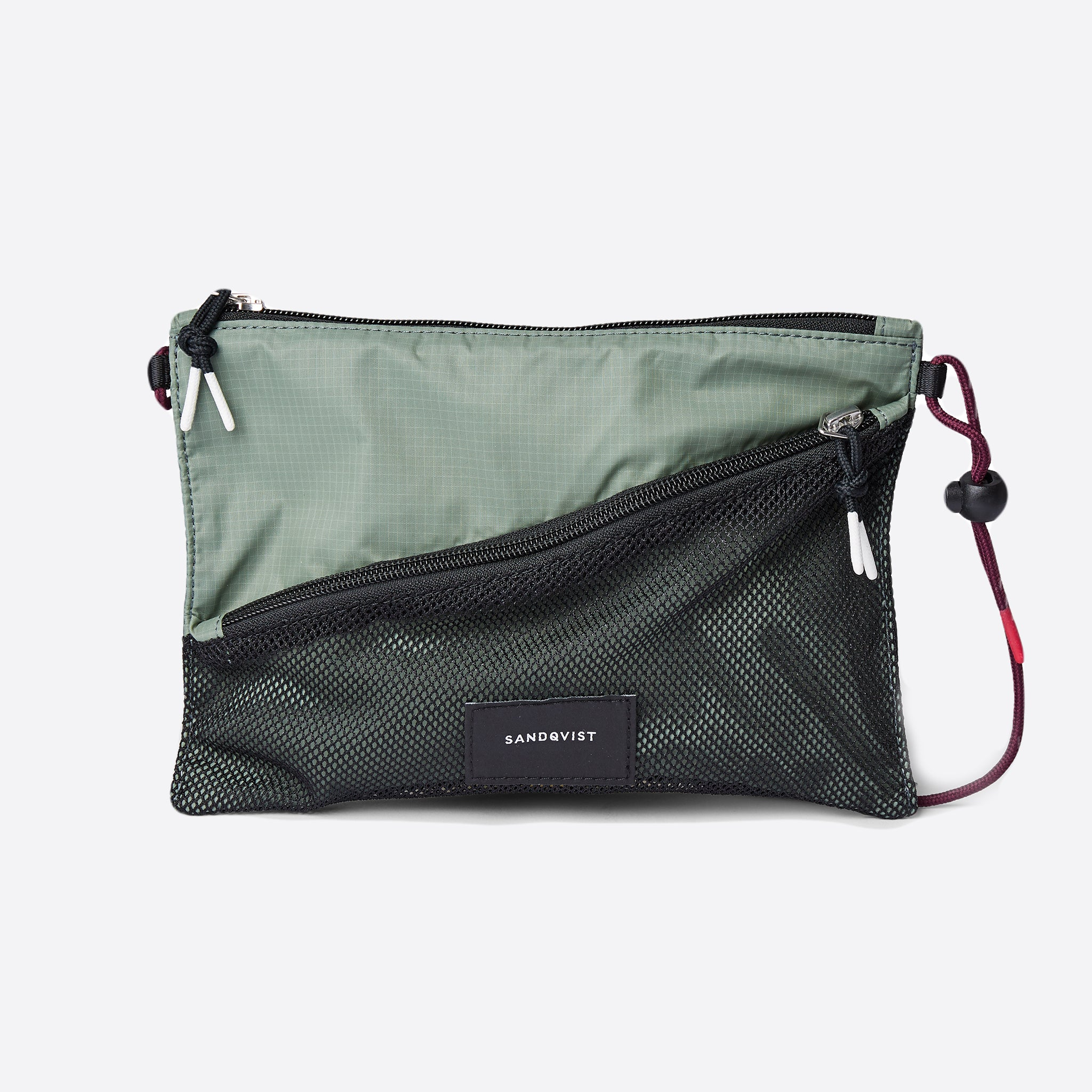 Sandqvist Dan Lightweight Shoulder Bag in Multi Green