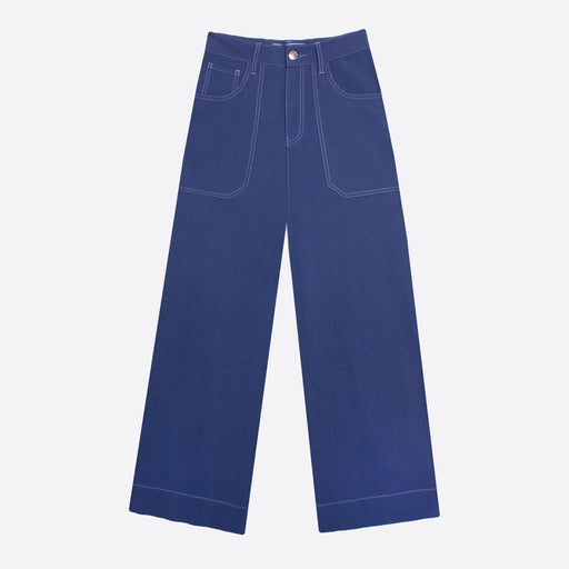 LF Markey Carpenter Trousers in Cobalt