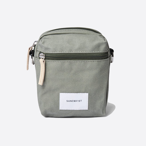 Sandqvist Sixten Shoulder Bag in Dusty Green