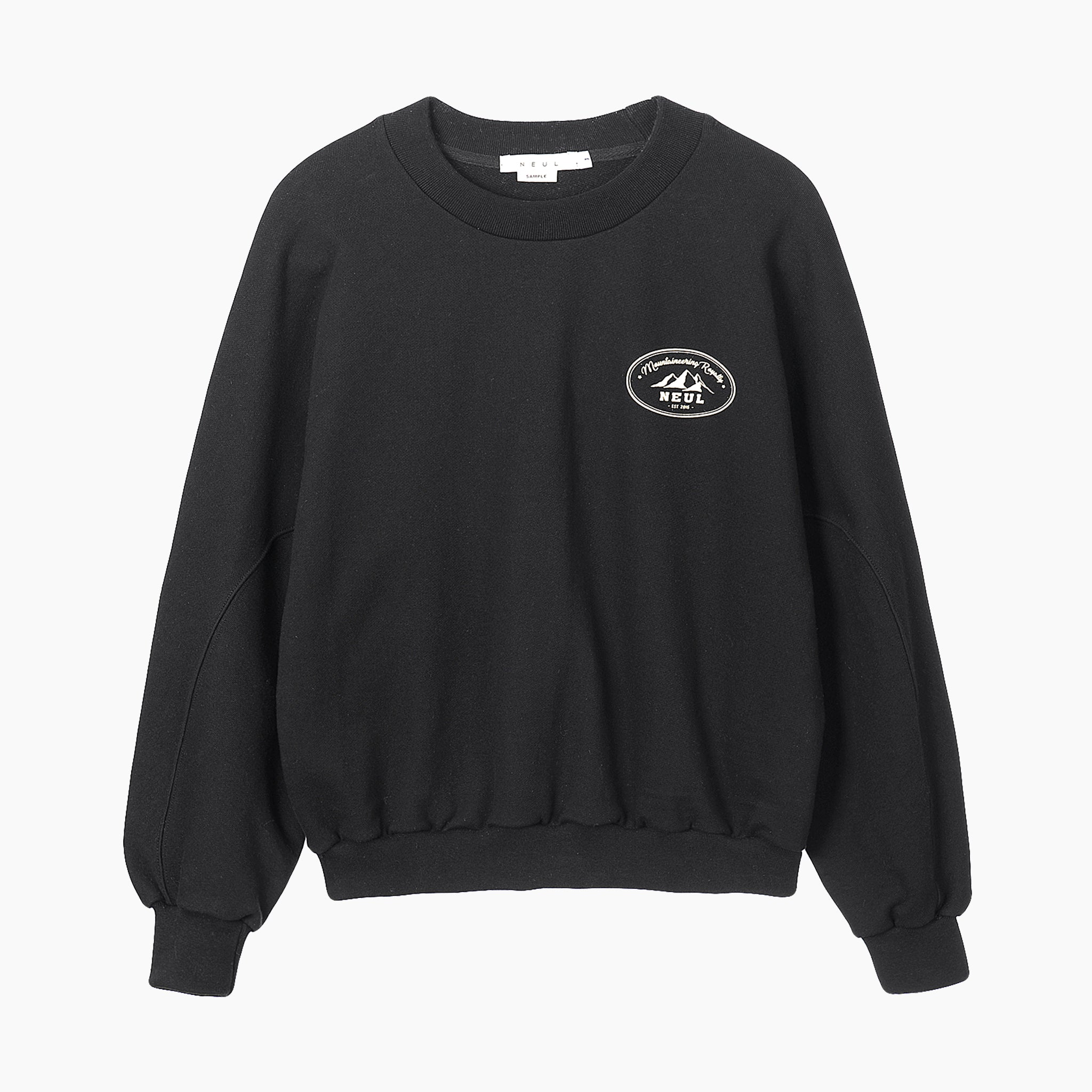 Neul Mountaineering Royalty Sweater in Black