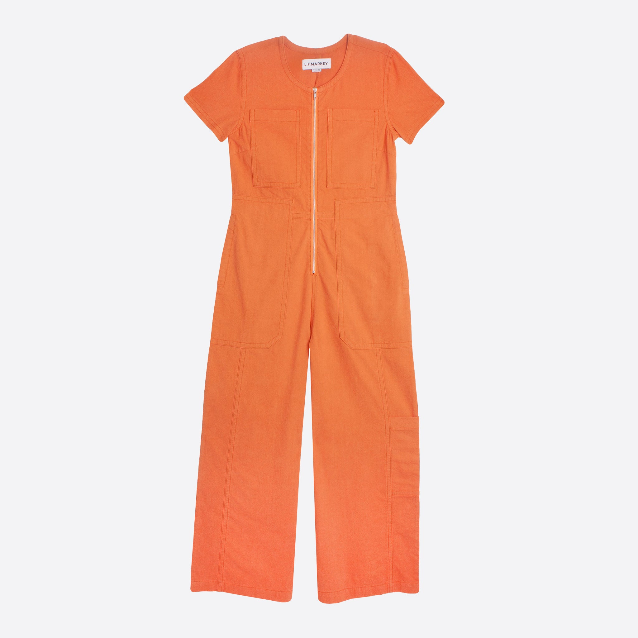 LF Markey Felix Boilersuit in Burnt Orange