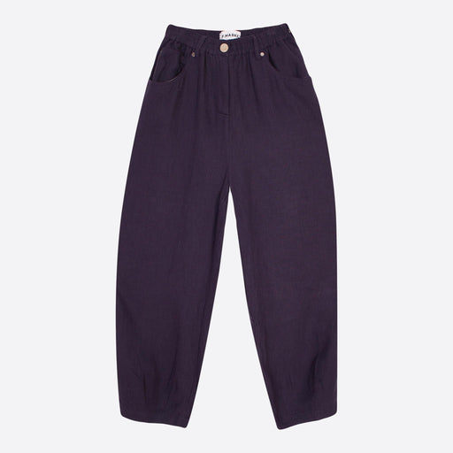 LF Markey Fat Boys Trouser in Navy Linen