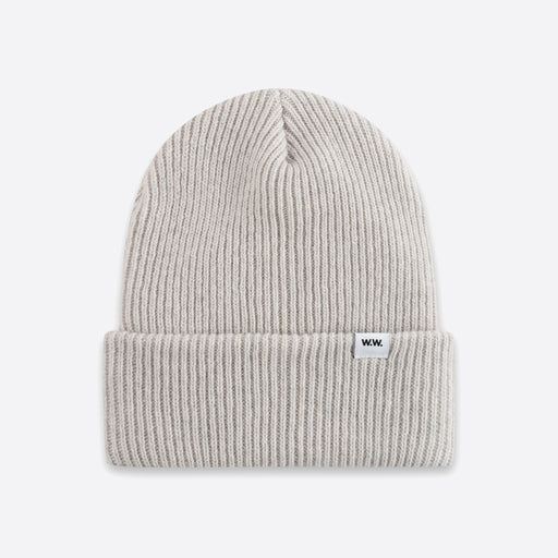 Wood Wood Mande Beanie in Off White