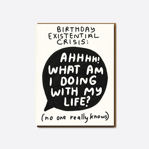 People I've Loved 'Birthday Crisis' Card