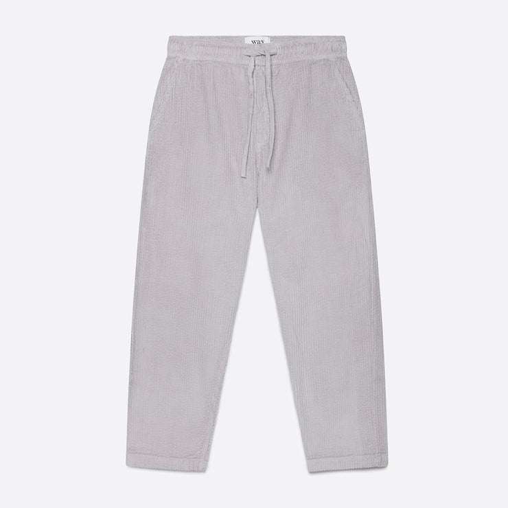 Wax London Jumbo Cord Kurt Trousers in Grey Violet