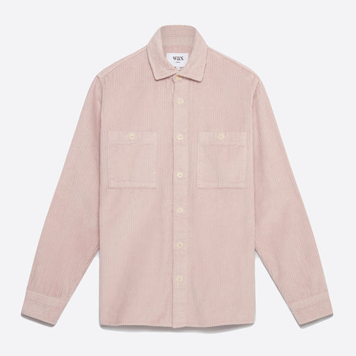 Wax London Whiting Shirt in Violet Pink