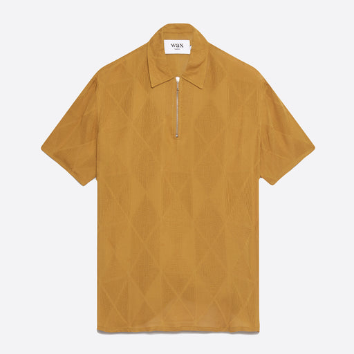 Wax London Soprano Tee in Diamond Mustard