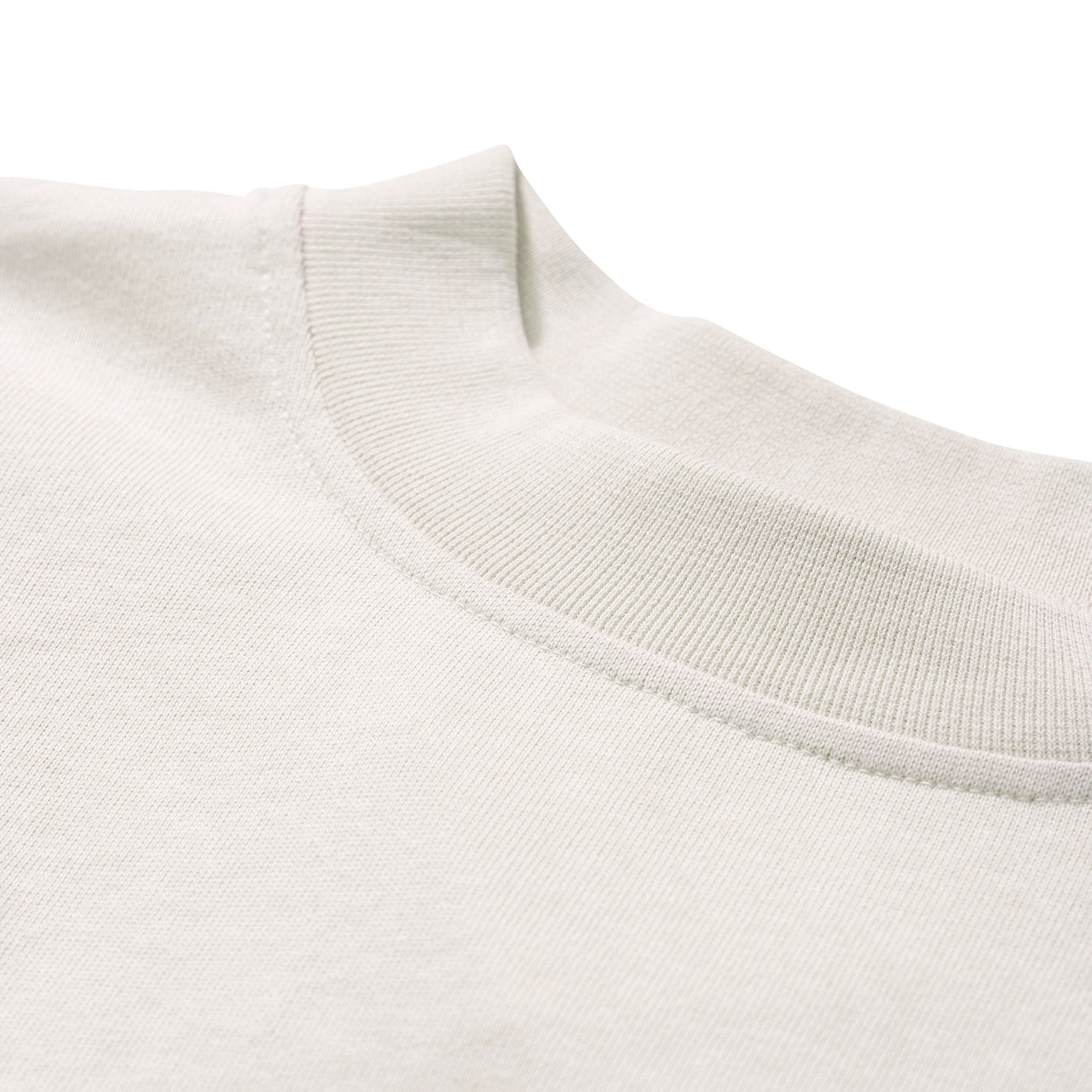 Norse Projects Dorthea Heavy Jersey Long Sleeve Tee in Kit White