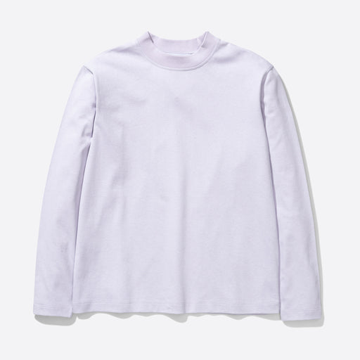 Norse Projects Dorthea Heavy Jersey Long Sleeve Tee in Pale Lilac