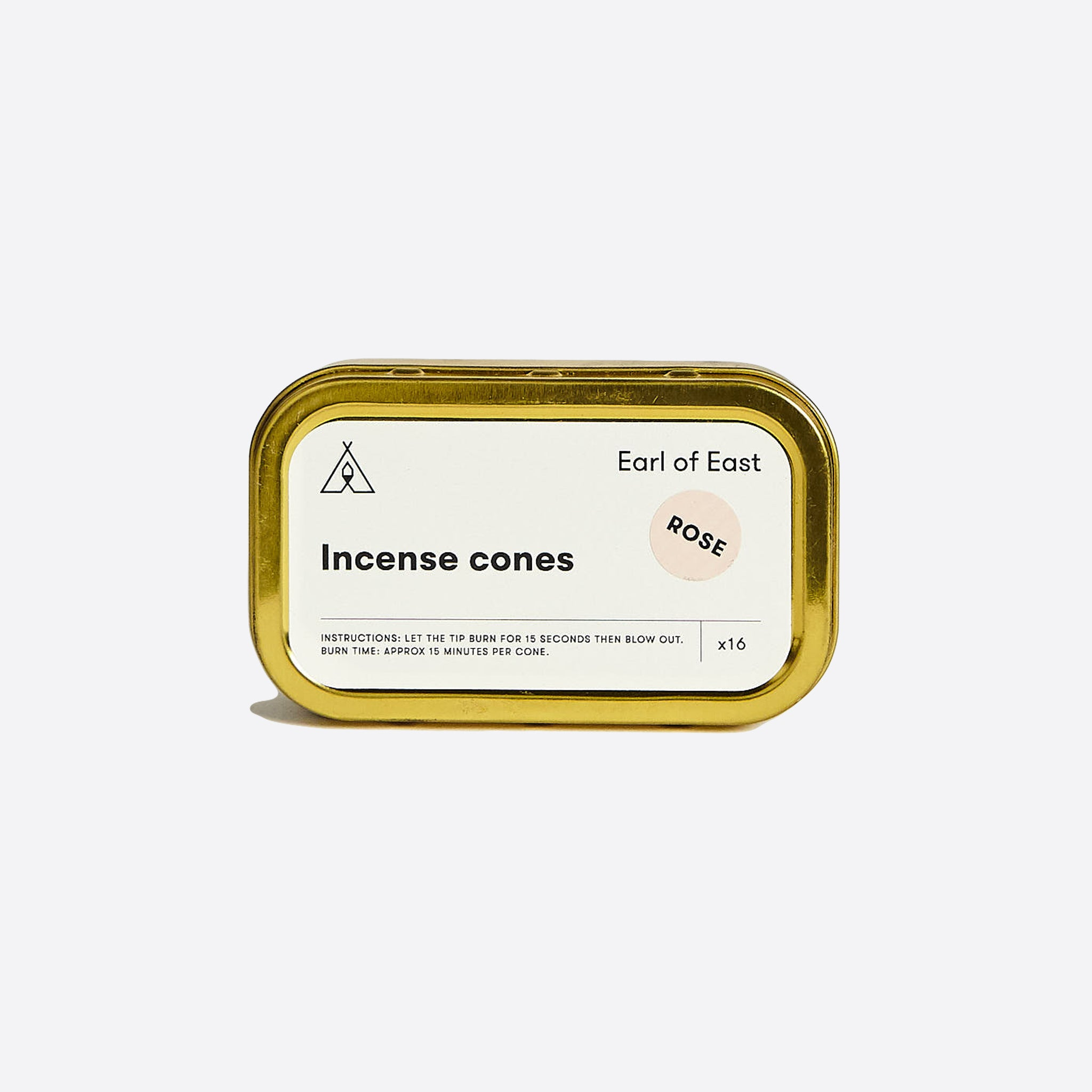 Earl of East Incense Cones Rose