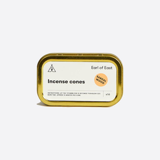 Earl of East Incense Cones Sandalwood