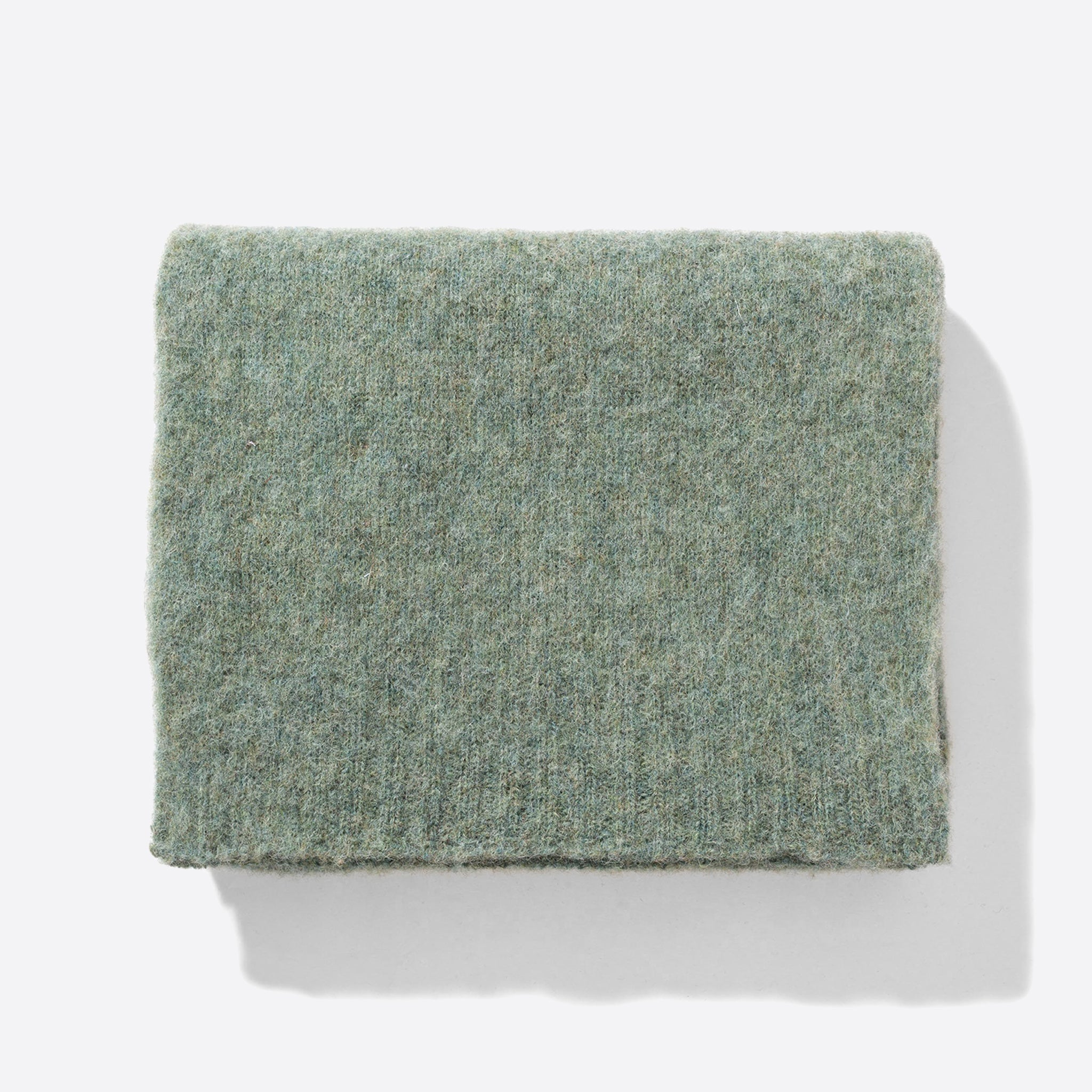 Norse Projects Klara Brushed Alpaca Scarf in Cloudy Teal
