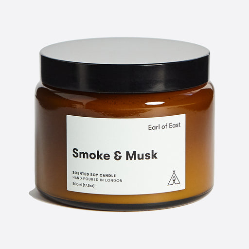 Earl of East Soy Wax Candle - Smoke & Musk - Large