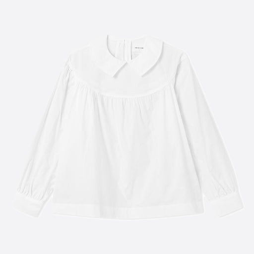 Wood Wood Maia Top in Bright White