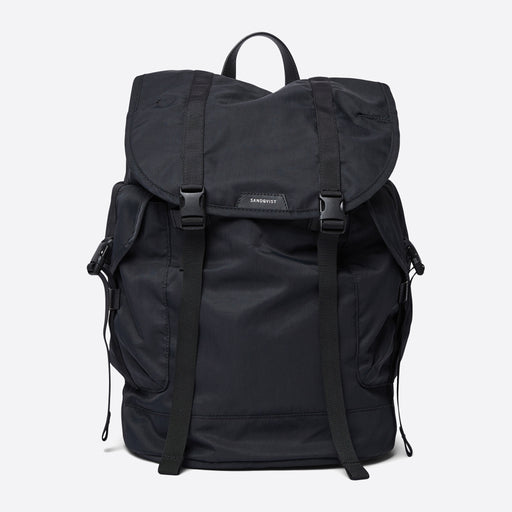 Sandqvist Charlie Backpack in Black