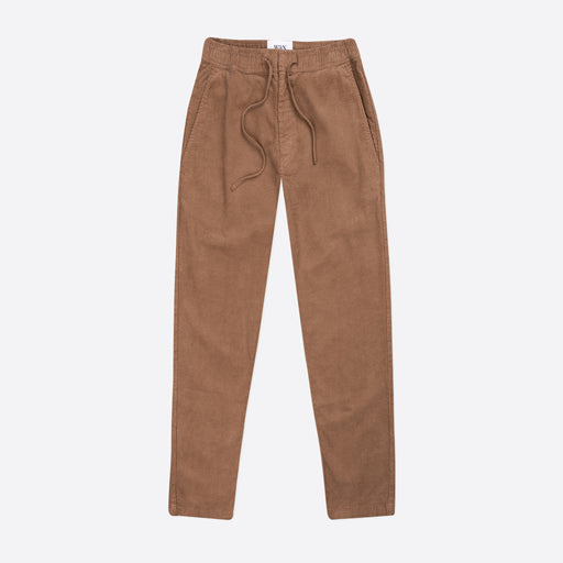 Wax London Kurt Trousers in Brown Square Cord